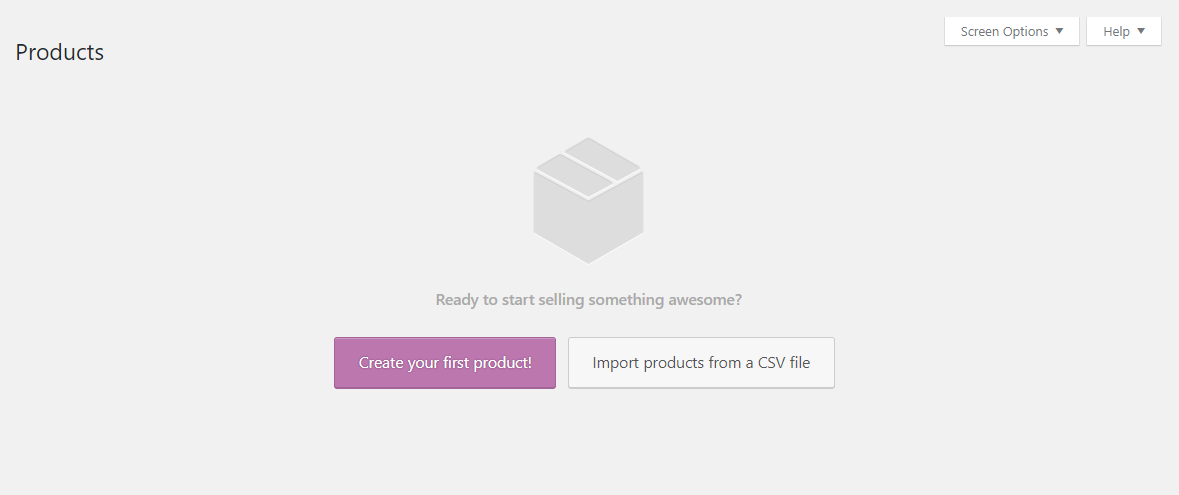 WooCommerce create your first product
