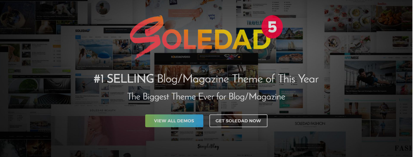 Soledad - WordPress minimalist theme