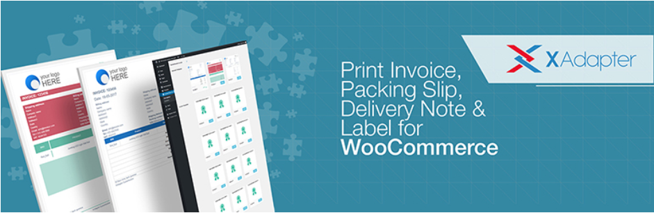 WooCommerce Print Invoice, Packing Slip, Delivery Note and Label