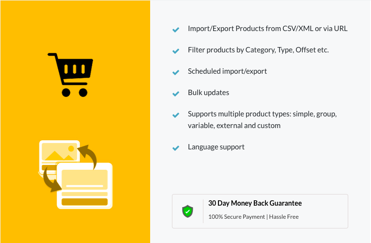 WooCommerce product import export plugin