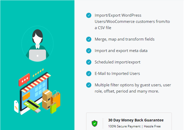 WordPress Users & WooCommerce Customers Import