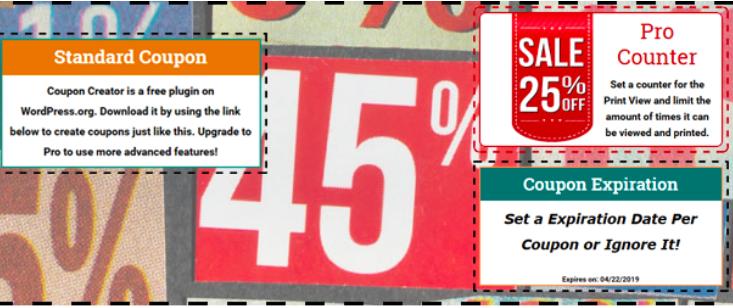 coupon creator coupon plugin
