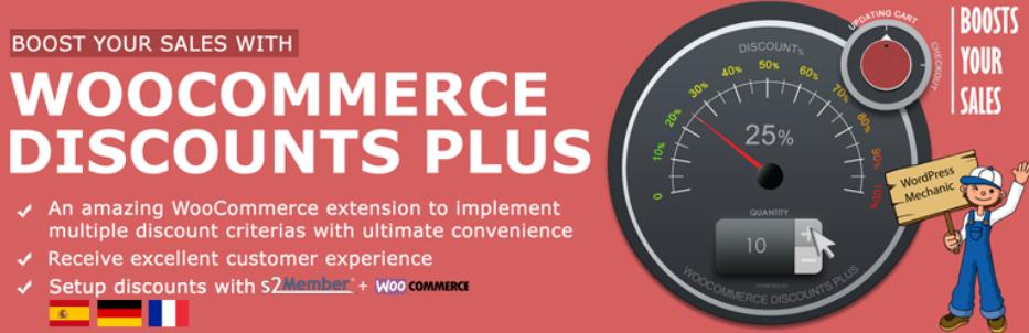 WooCommerce discount plus plugin