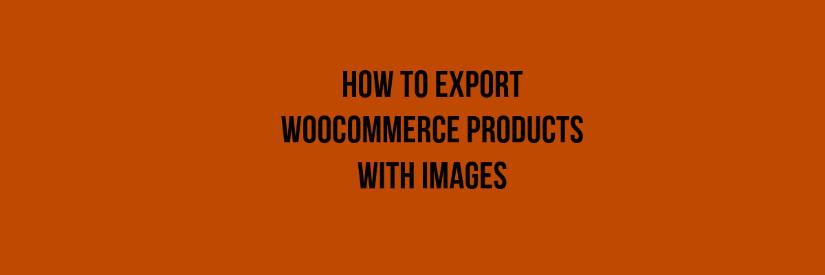Export Woocommerce Product Tags