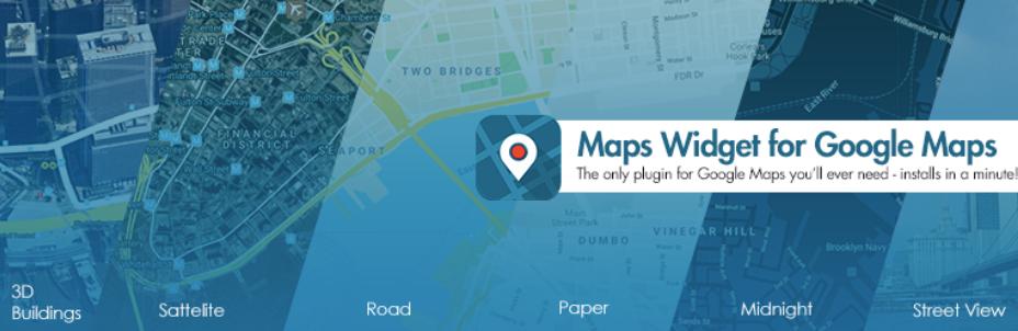 maps widget