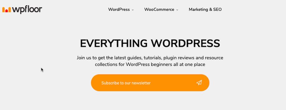 WP floor WordPress Blog