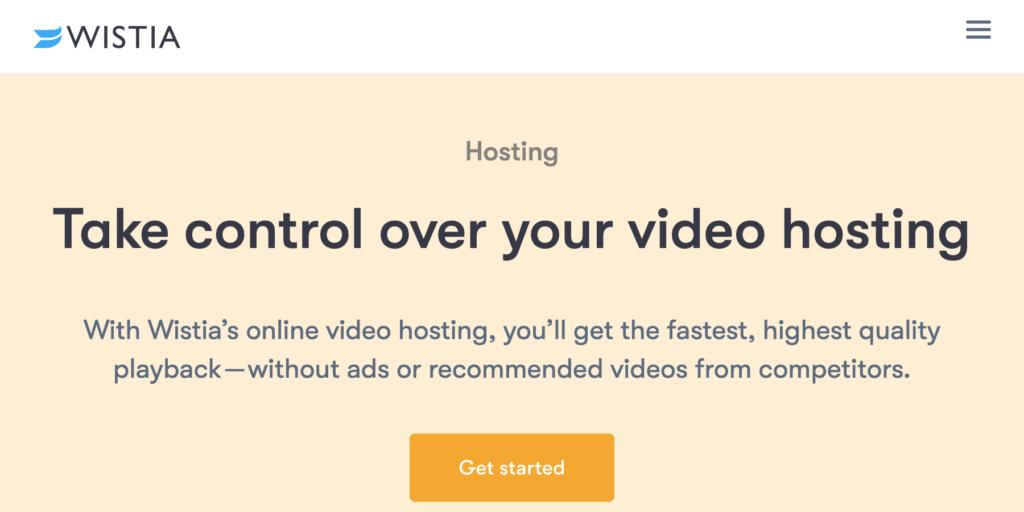 Video hosting platform