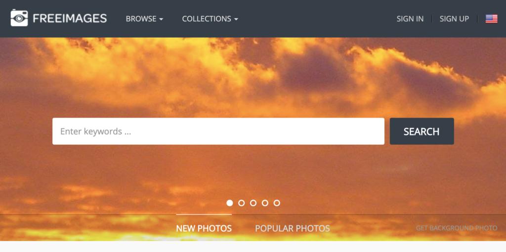 free blog image site