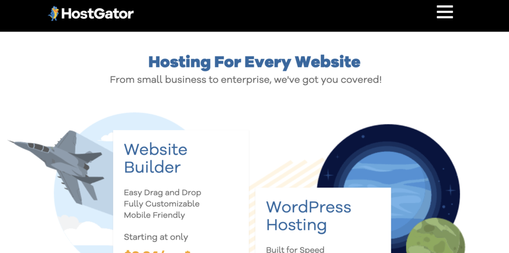 HostGator - cheap WordPress hosting