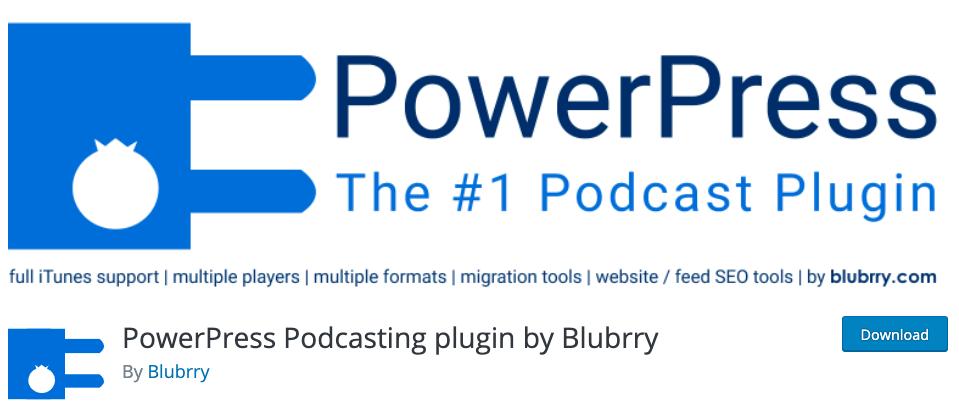 WordPress podcast plugin