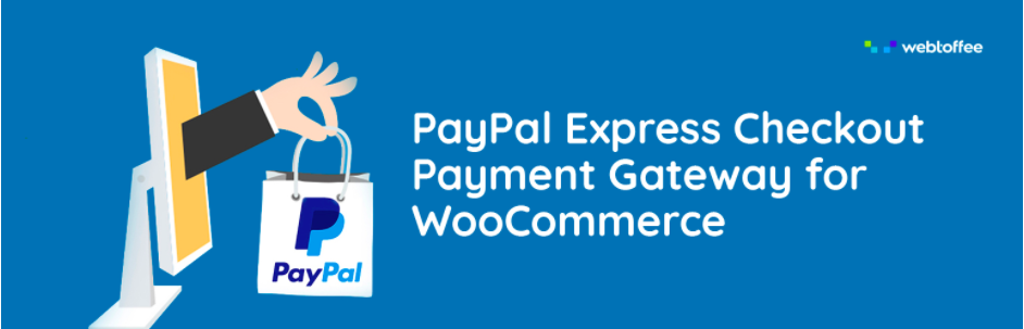 PayPal payment gateway plugin for WooCommmerce allowing express checkout